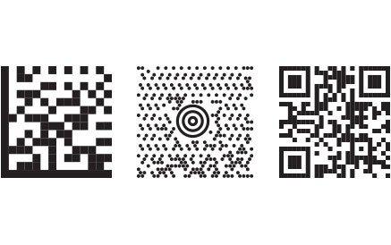 2d cades, datamatrix, maxi code, and qr code