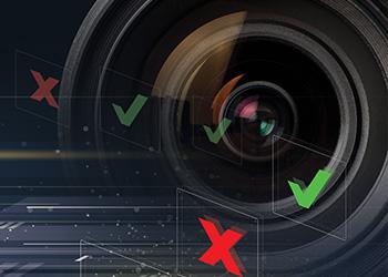 pass fail checks and X Vision Sensor lens