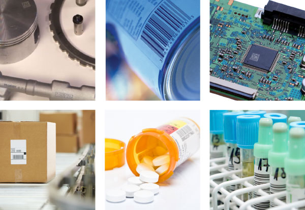 Barcodes are used in almost every industry