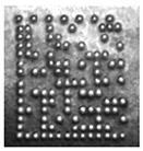 2d dotpeen barcode on metal example