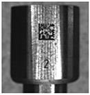 laser marked small 2d barcode
