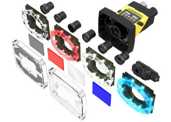 In-Sight 2000 Modularity lens, lighting, fliters, and covers