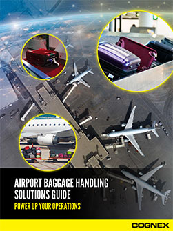 Cognex airport baggage handling guide pdf preview
