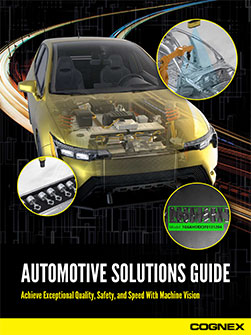 Cognex Automotive Solutions Guide pdf preview