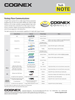 Cognex Connect Guide