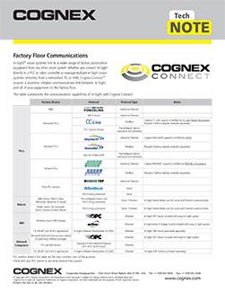 Cognex Connect Guide