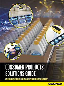 Cognex Solutions for Consumer Products PDF Guide preview
