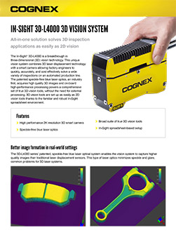 Scheda tecnica di In-Sight 3D-L4000