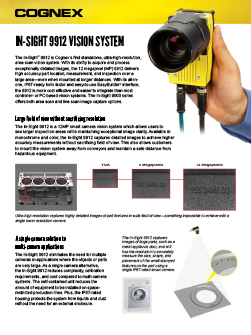 In-Sight 9912 Vision System