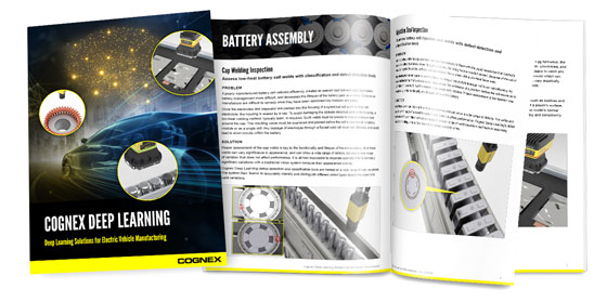 Cognex Deep Learning EV Guide Flipbook