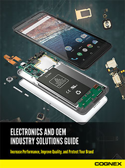 Electronics Industry Solutions for OEMs and Machine Builders Guide