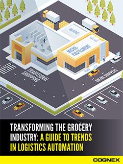 Cognex Grocery Logistics Guide Cover