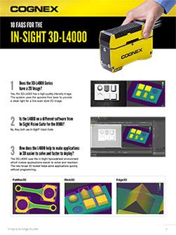 In-Sight 3D-L4000 FAQ Infographic