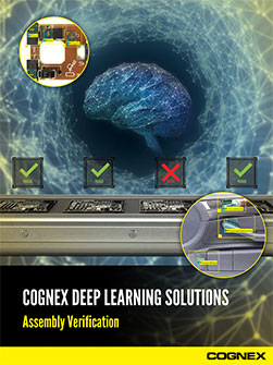 Cognex Deep Learning Assembly Verification Guide