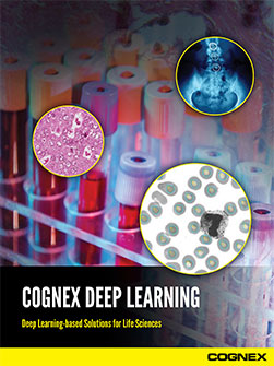 Cognex Deep Learning Life Science Applications