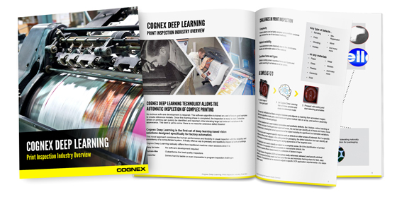 Cognex Deep Learning Print Inspection Industry Overview