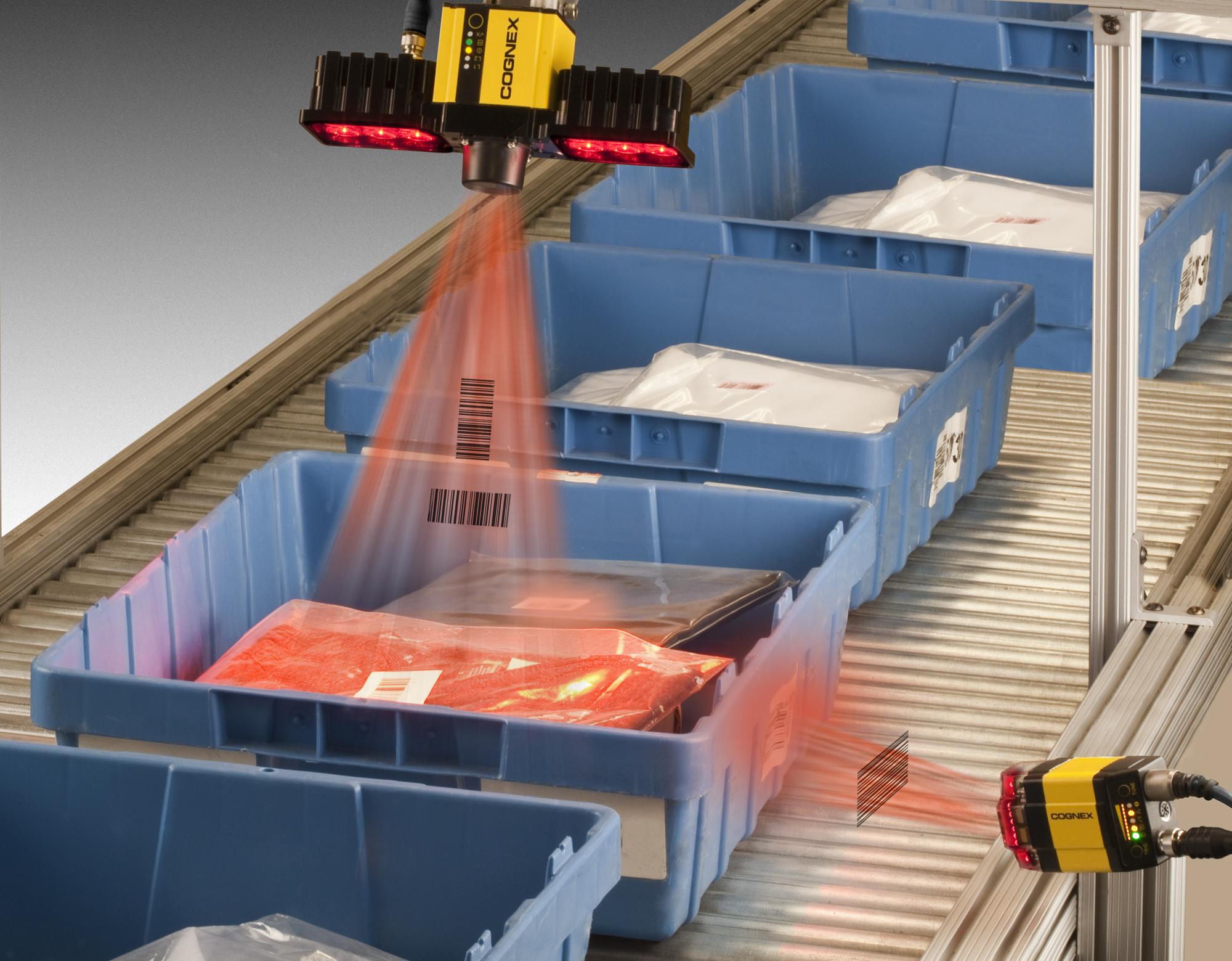 cognex expands logistics barcode scanning capabilities cognex