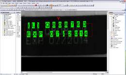 2012 cognex software optical character recognition (OCR) example