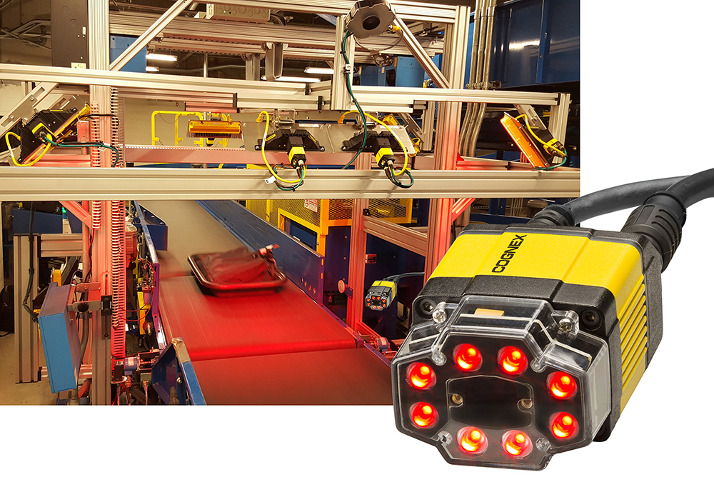 Cognex Airport Baggage Handling Identification Solution (ABH-ID) and red light dataman