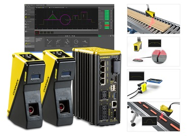 Easybuilder interface behind In-Sight-Laser-Profilers and industry application examples