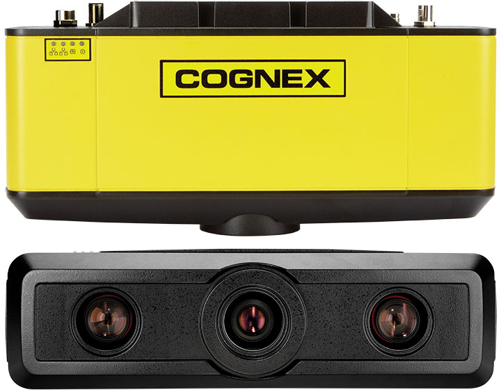 Multiple views of the Cognex 3D-A5000 area scan 3D camera