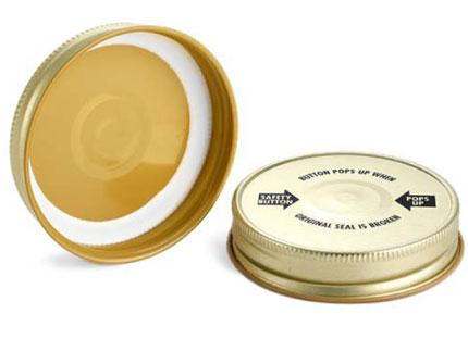 Jar Lid Cap Safety Seal Inspection