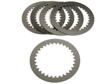 Pile of Clutch Plates for Flatness Inspection