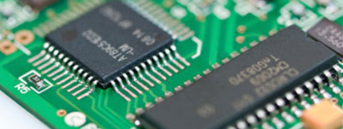 Circuit board components with serial numbers for OCR
