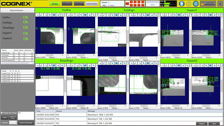 AlignPlus software screen shot