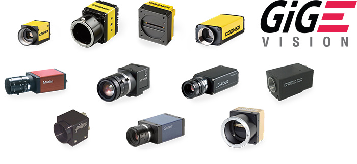 Scalable GiGE vision cameras