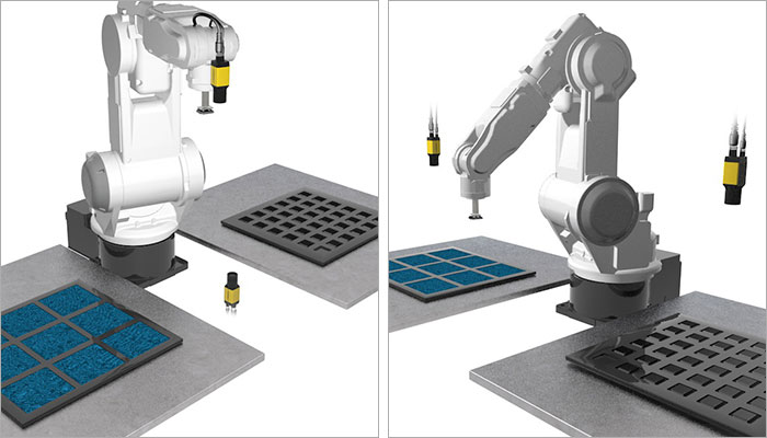 Robot-mount and fixed-camera configurations for AlignSight