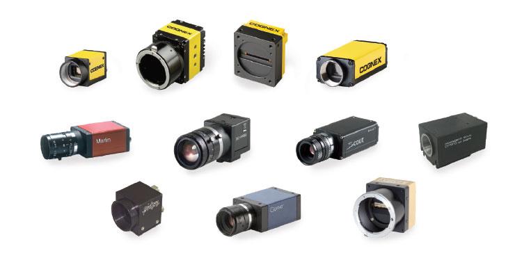 suite of industrial cameras