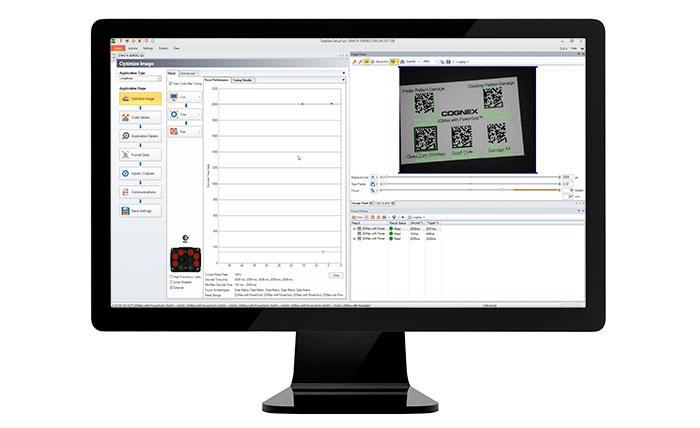 DataMan Setup Tool visible on monitor