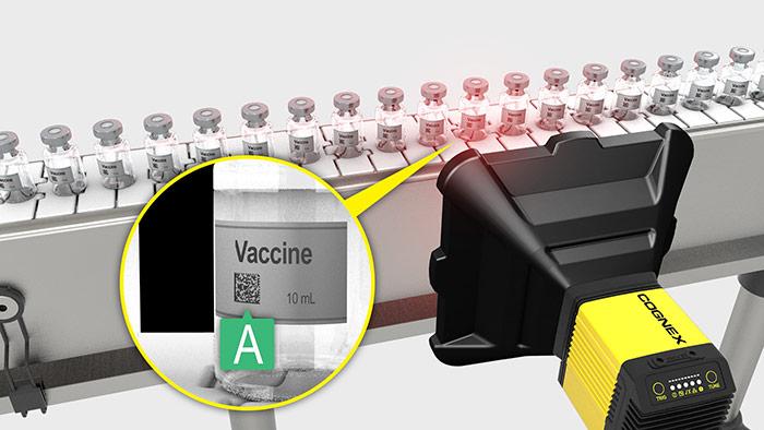 DataMan 475 verifies vaccine barcodes with an A grade