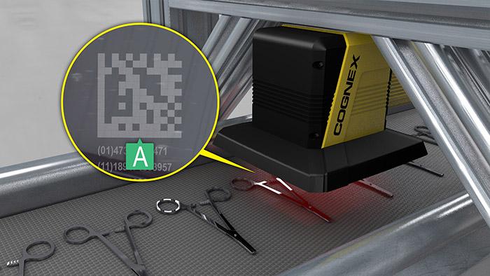 DataMan 475V verifies barcodes on hemostats