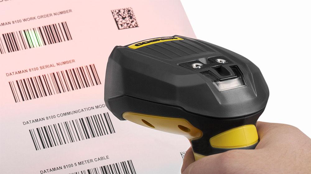 DataMan 8050 scanning barcodes