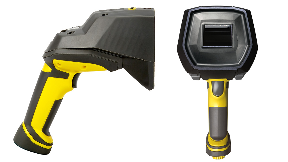 DM8072 Verifier side profile and front facing view