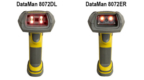 Cognex Dataman 8072DL compared to Dataman 8072ER