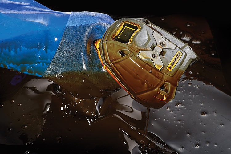 DataMan 8700DX is oil and water resistant