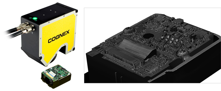 DSMax 3D detailed scan of circuit board