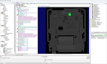 DSMax Software examining 3d model