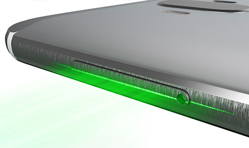 Height calculator tool on phone using green laser