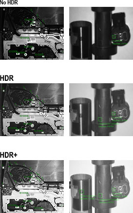 HDR Plus for Part Inspection