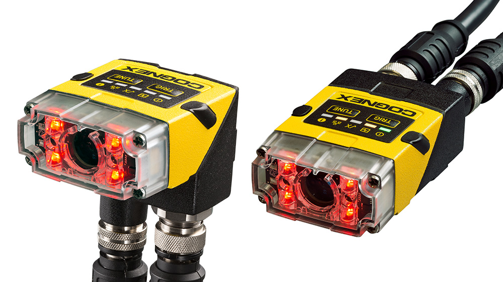 Cognex insight 2000 Mini straight and right angle designs red light