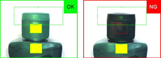 shampoo inspection failed with open cap