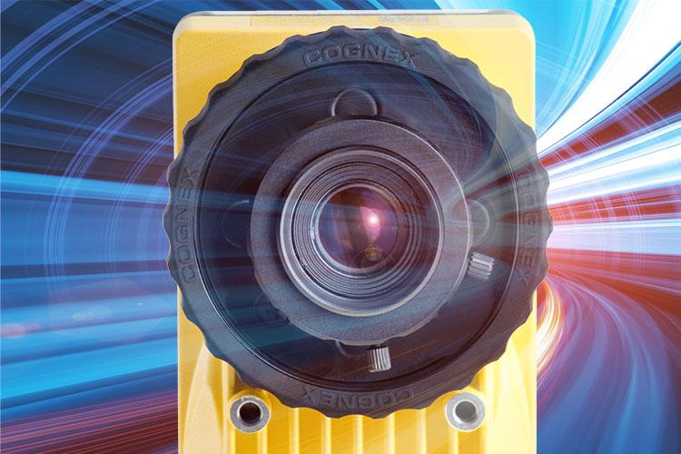 Cognex is camera color lens up close