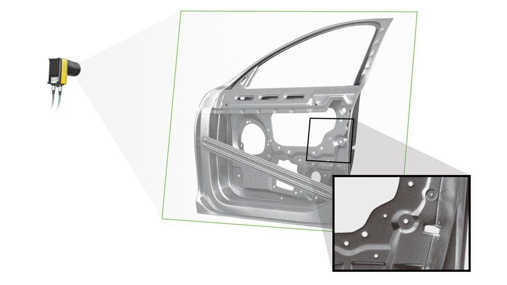 is9000 line scan car door inspection