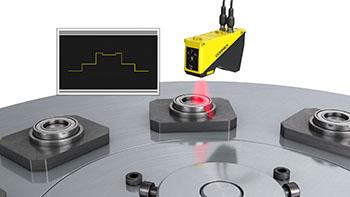 laser displacement scanning automotive Bearing Inspection