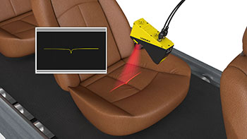 Car seat wrinkle detection