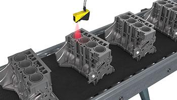 Engine block alignment inspection
